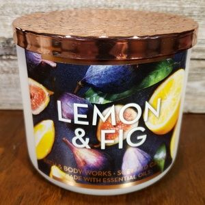 Bath & Body Works Candle • Lemon & Fig